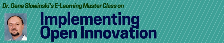 E-Learning Master Class on Open Innovation